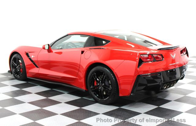 2016 Chevrolet Corvette CERTIFIED CORVETTE 1LT COUPE 7 SPEED MANUAL - 16225200 - 22