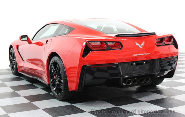 2016 Chevrolet Corvette CERTIFIED CORVETTE 1LT COUPE 7 SPEED MANUAL - 16225200 - 23