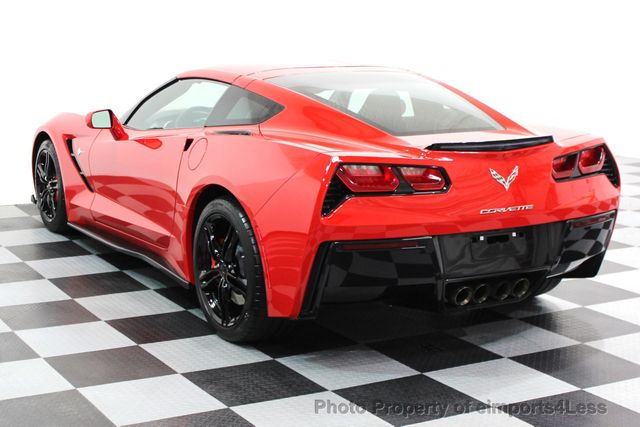 2016 Chevrolet Corvette CERTIFIED CORVETTE 1LT COUPE 7 SPEED MANUAL - 16225200 - 2