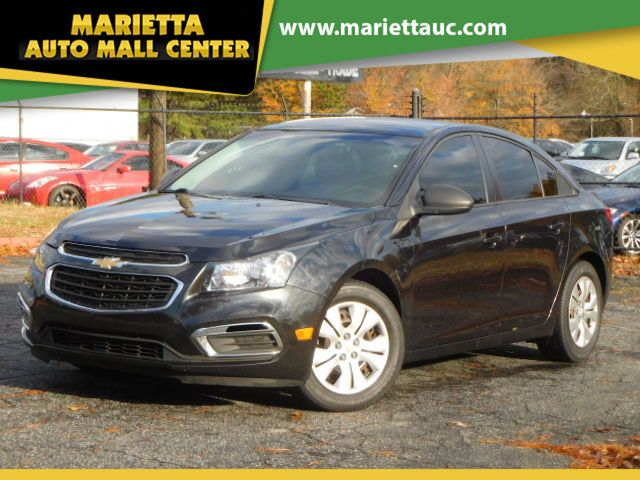 2016 Chevrolet Cruze Limited 4dr Sedan Manual LS