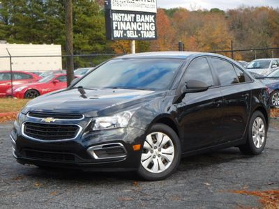 2016 Chevrolet Cruze Limited 4dr Sedan Manual LS - Click to see full-size photo viewer