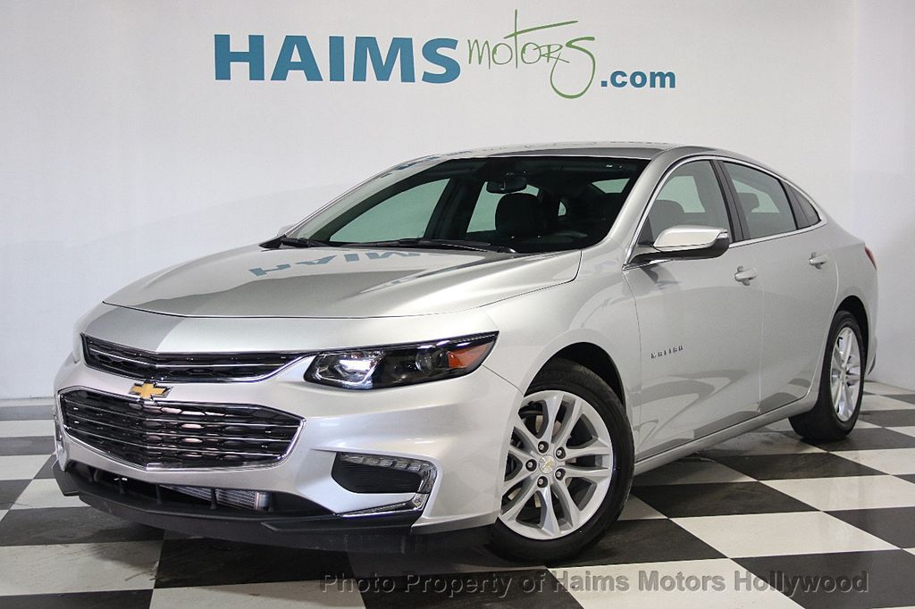 2016 used chevrolet malibu 4dr sedan lt w 1lt at haims motors serving fort lauderdale hollywood. Black Bedroom Furniture Sets. Home Design Ideas
