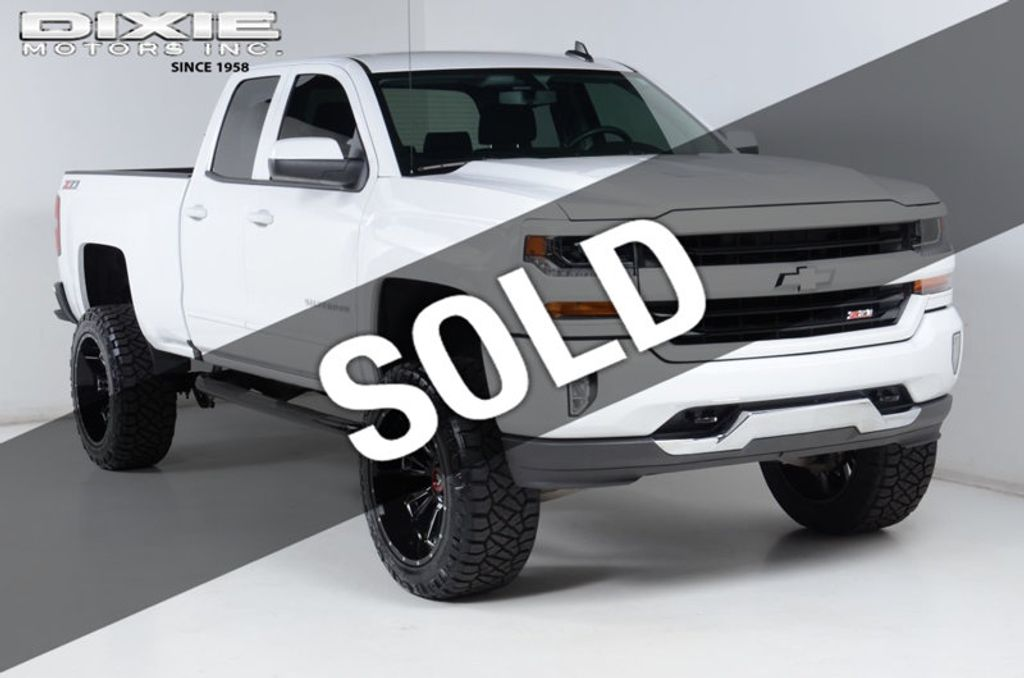 2016 Chevrolet Silverado 1500 1500 4X4 LT-6 INCH LIFT-22 INCH WHEELS-35 INCH TIRES-ALL WHITE! - 16856600 - 0