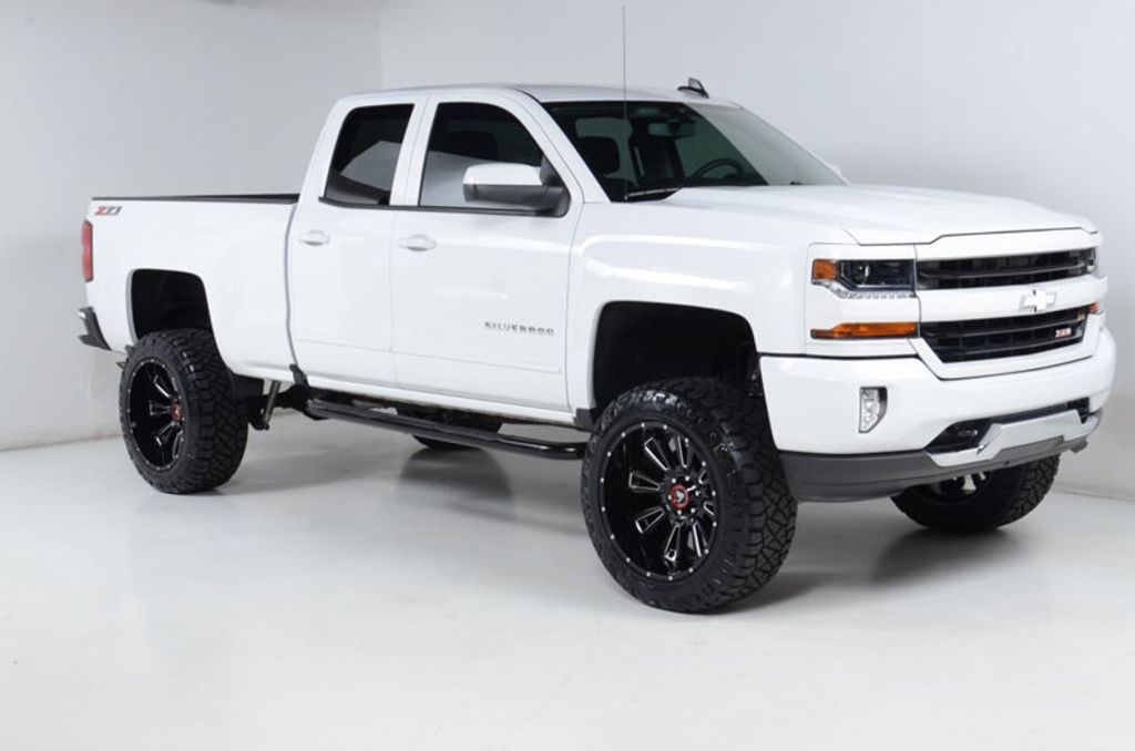 2016 Chevrolet Silverado 1500 1500 4X4 LT-6 INCH LIFT-22 INCH WHEELS-35 INCH TIRES-ALL WHITE! - 16856600 - 6