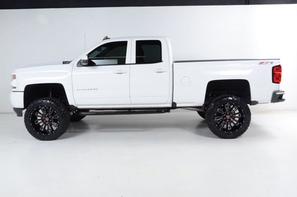 2016 Chevrolet Silverado 1500 1500 4X4 LT-6 INCH LIFT-22 INCH WHEELS-35 INCH TIRES-ALL WHITE! - 16856600 - 8