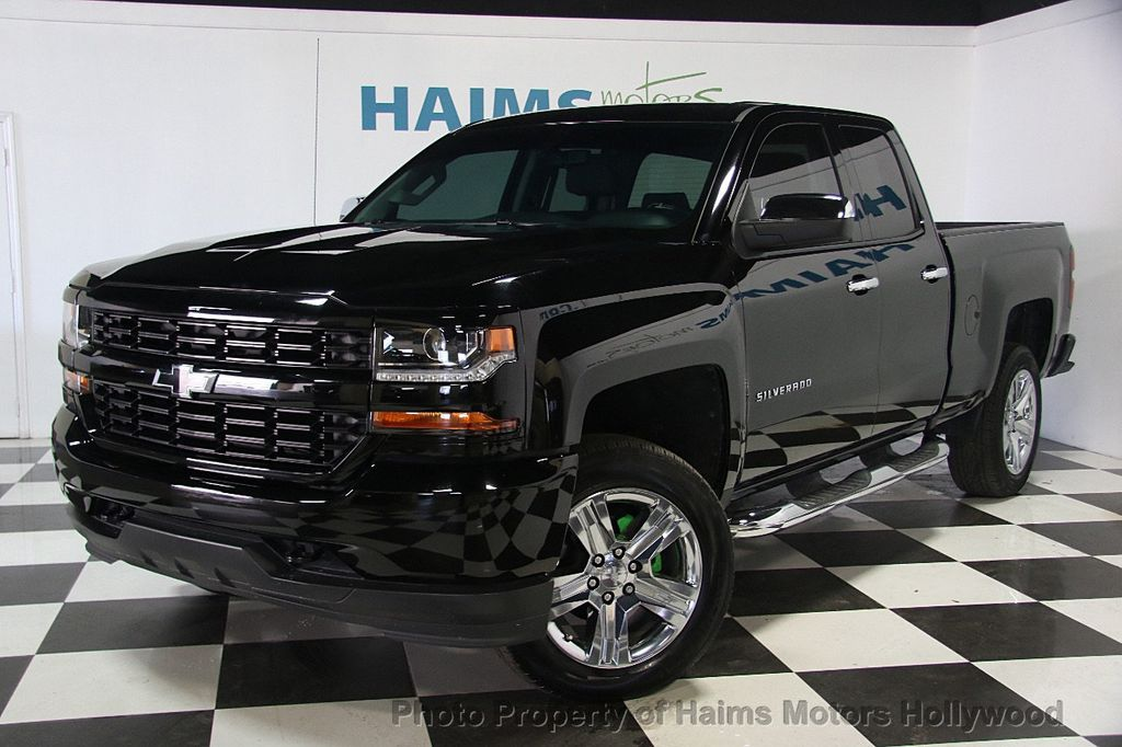 2016 used chevrolet silverado 1500 2wd crew cab 153 0. Black Bedroom Furniture Sets. Home Design Ideas