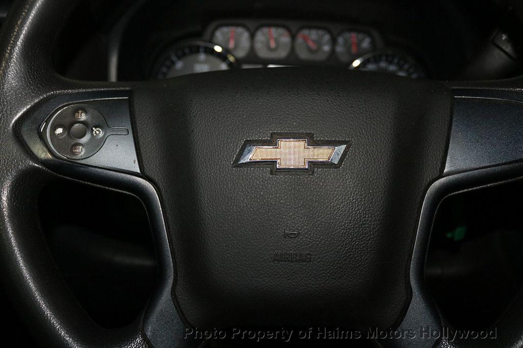 """2016 Chevrolet Silverado 1500 4WD Reg Cab 119.0"""" Work Truck - 18164219 - 19"""