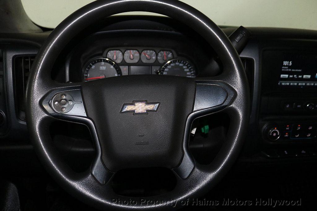 """2016 Chevrolet Silverado 1500 4WD Reg Cab 119.0"""" Work Truck - 18164219 - 20"""