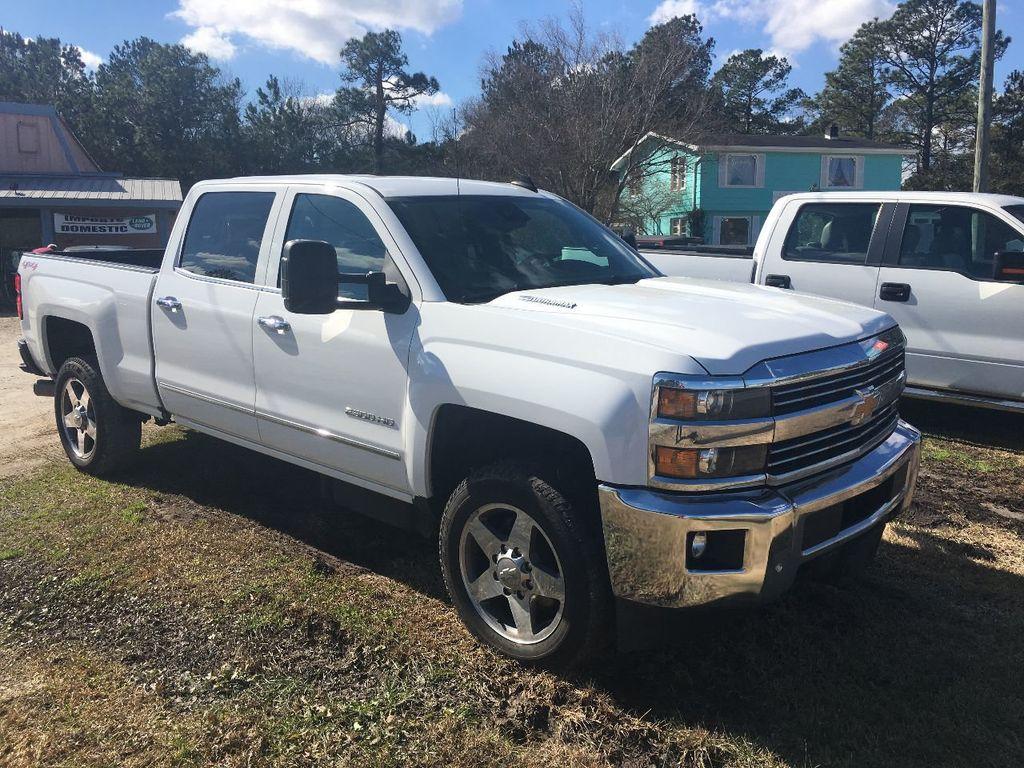 2016 Chevrolet Silverado 2500hd 4wd Crew Cab 1537 Ltz Truck Trailer Wiring Harness Hyundai Factory Standard Bed For Sale Holly Ridge Nc 53500