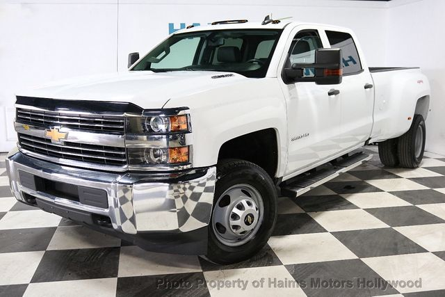 2016 Chevrolet Silverado 3500hd 4wd Crew Cab 167 7 Work Truck 18868579 1
