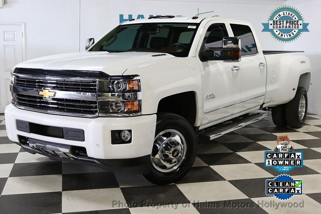 2016 Chevrolet Silverado 3500HD HIGH COUNTRY - 18534911