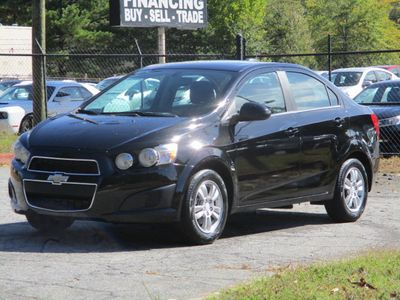 2016 Chevrolet Sonic 4dr Sedan Automatic LT - Click to see full-size photo viewer