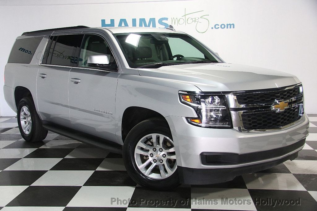 2016 used chevrolet suburban 4wd 4dr 1500 lt at haims motors ft lauderdale serving lauderdale. Black Bedroom Furniture Sets. Home Design Ideas