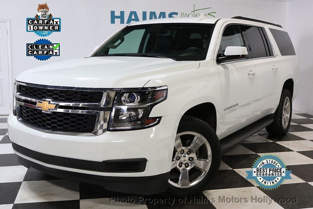 2016 Chevrolet Suburban W/ LEATHER - 17701430 - 0