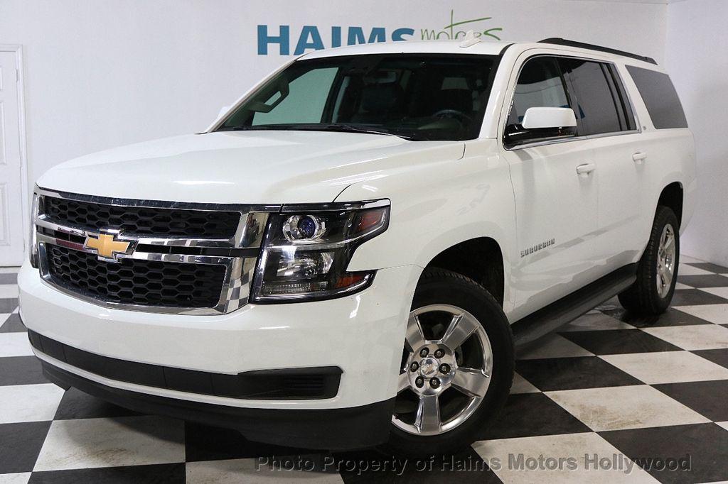 2016 Chevrolet Suburban W/ LEATHER - 17701430 - 1