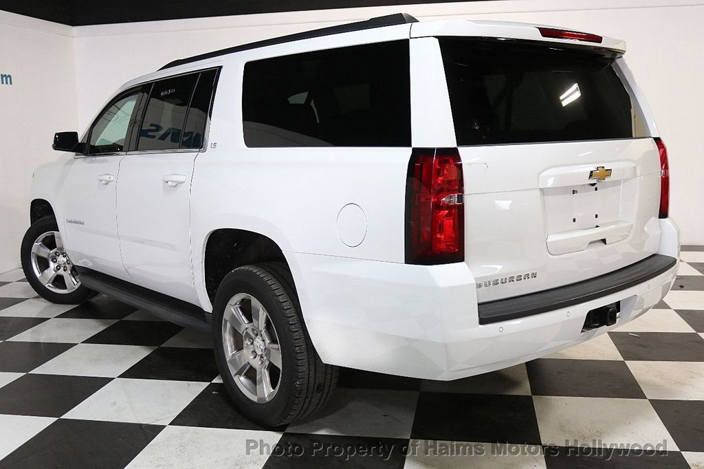 2016 Chevrolet Suburban W/ LEATHER - 17701430 - 4