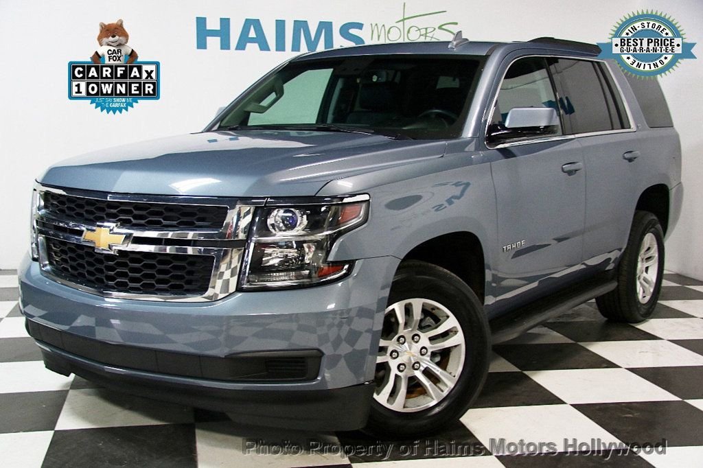 2016 used chevrolet tahoe 4wd 4dr lt at haims motors serving fort lauderdale hollywood miami. Black Bedroom Furniture Sets. Home Design Ideas