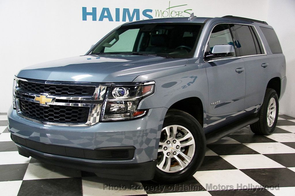 2016 used chevrolet tahoe 4wd 4dr lt at haims motors ft lauderdale serving lauderdale lakes fl. Black Bedroom Furniture Sets. Home Design Ideas
