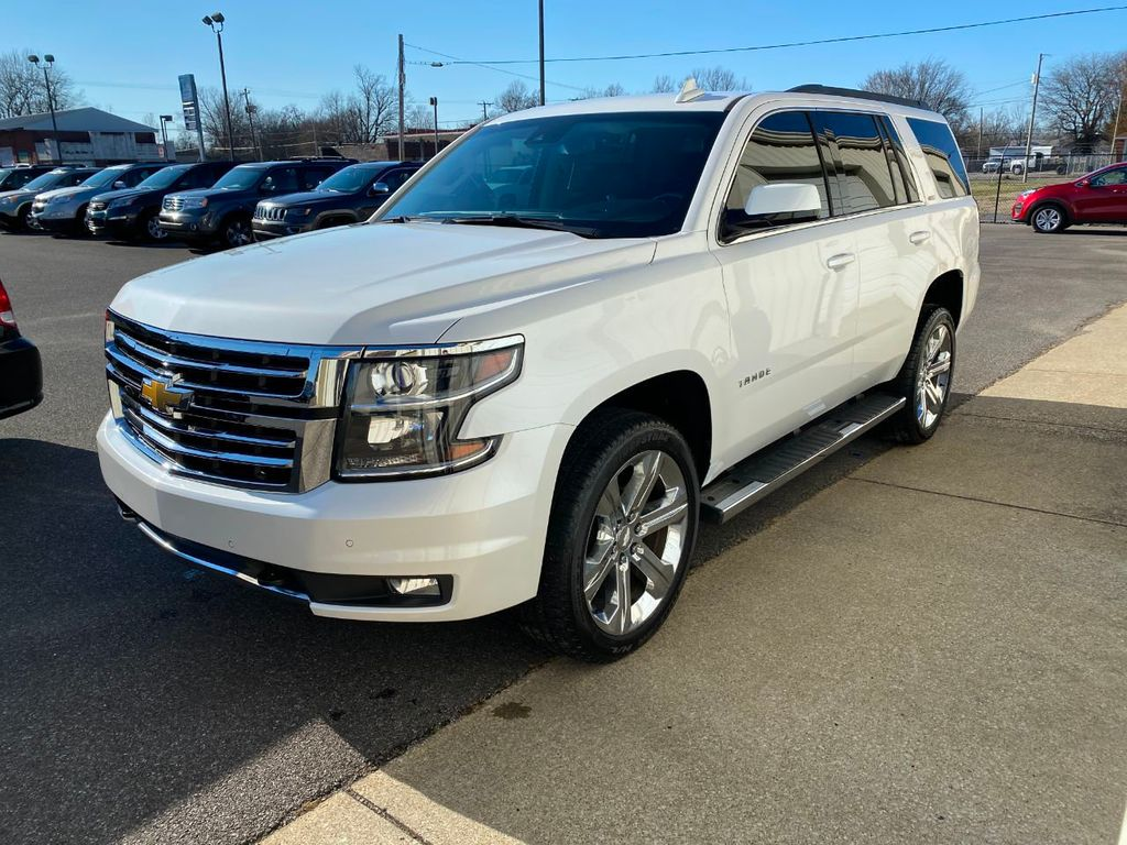 Used Chevy Tahoe >> 2016 Used Chevrolet Tahoe 4wd 4dr Lt At Allen Auto Sales Serving Paducah Ky Iid 19078972