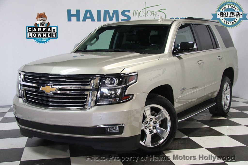 2016 Used Chevrolet Tahoe 4wd 4dr Ltz At Haims Motors