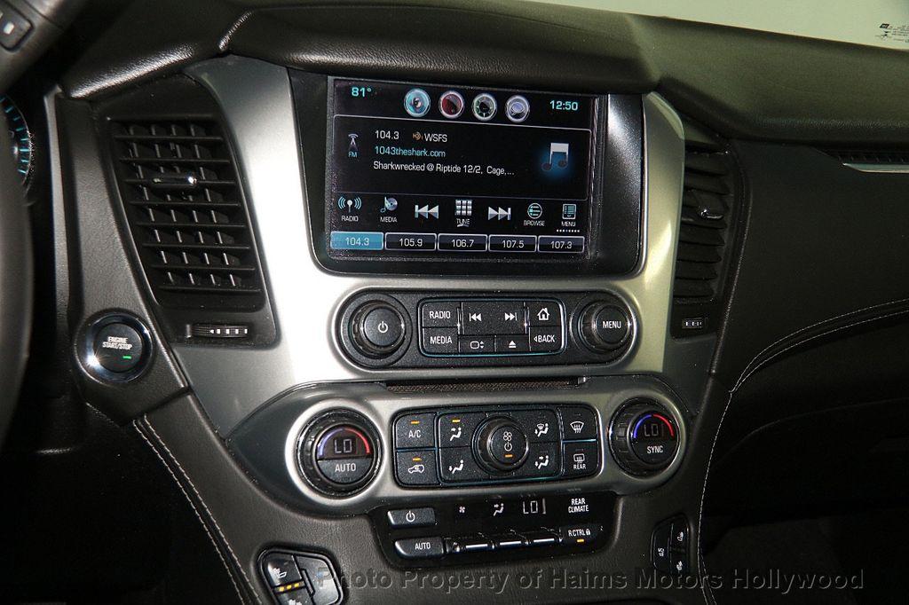 2016 Chevrolet Tahoe 4WD 4dr LTZ - 17100809 - 22
