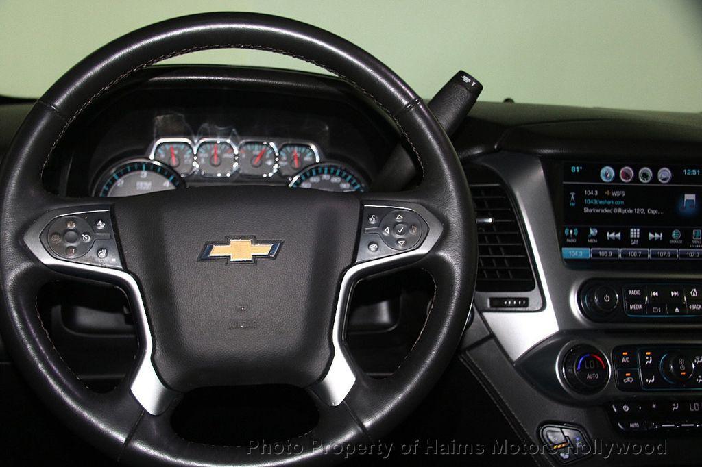 2016 Chevrolet Tahoe 4WD 4dr LTZ - 17100809 - 31