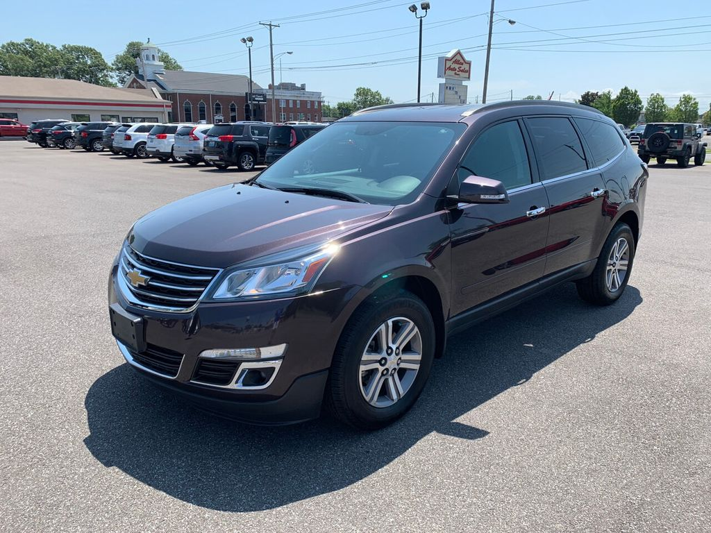 Used Chevy Traverse >> 2016 Used Chevrolet Traverse AWD 4dr LT w/2LT at Allen