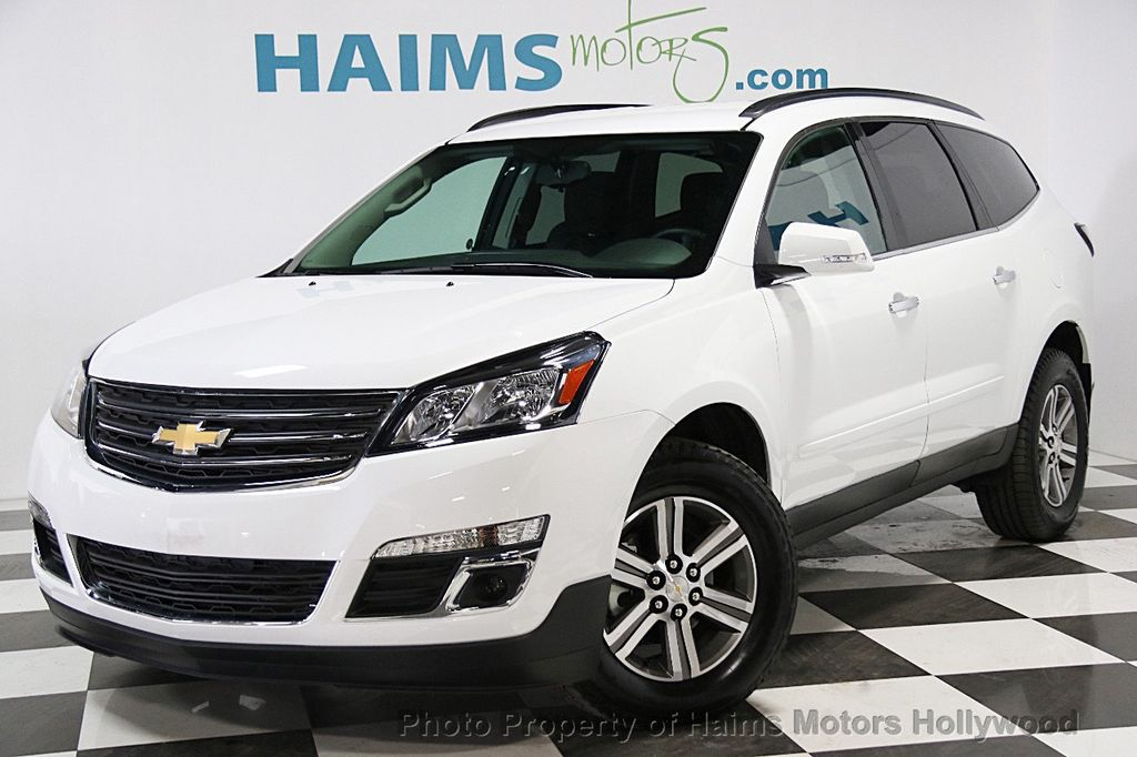 2016 Used Chevrolet Traverse Fwd 4dr Lt W 1lt At Haims