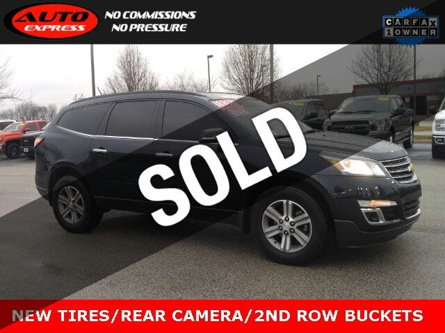 Used Chevy Traverse >> 2016 Used Chevrolet Traverse Lt Fwd 18 Premium Alloys 3rd Row 2nd Row Buckets New Tires At Auto Express Lafayette In Iid 19611889