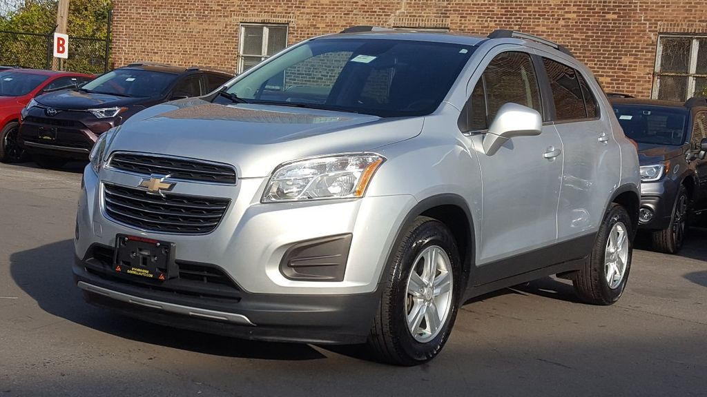 2016 Used Chevrolet Trax Lt At Saw Mill Auto Serving Yonkers Bronx