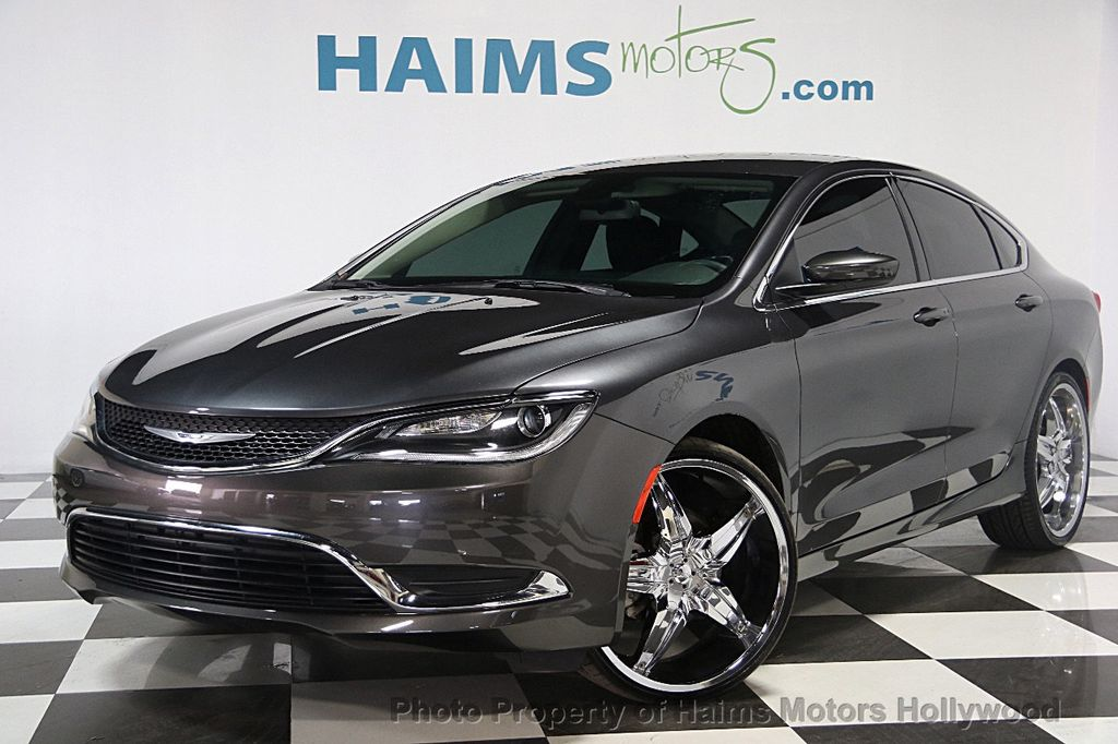 2016 Used Chrysler 200 4dr Sedan Limited FWD at Haims Motors