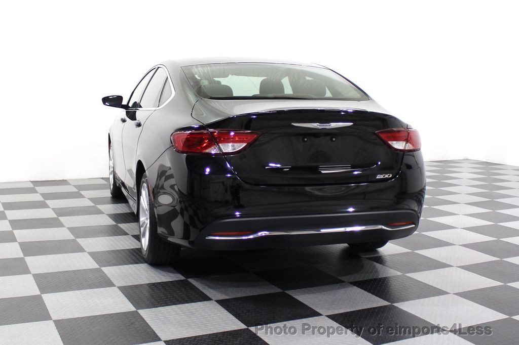 2016 Chrysler 200 CERTIFIED CHRYSLER 200 LIMITED - 18041444 - 50
