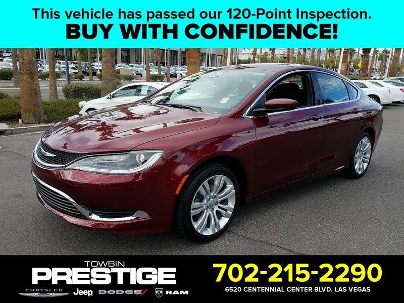2016 Chrysler 200 LIMITED - 16988082 - 0