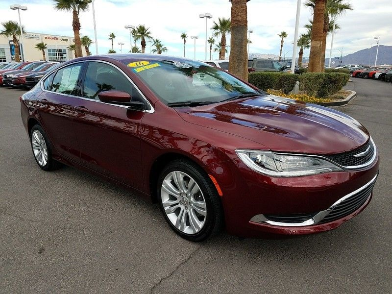 2016 Chrysler 200 LIMITED - 16988082 - 2