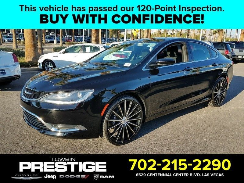 2016 Chrysler 200 LIMITED - 17002652 - 0