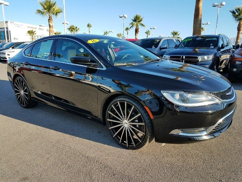 2016 Chrysler 200 LIMITED - 17002652 - 2