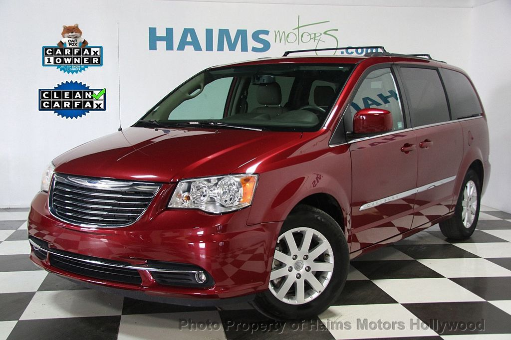 2016 used chrysler town country 4dr wagon touring at haims motors serving fort lauderdale. Black Bedroom Furniture Sets. Home Design Ideas
