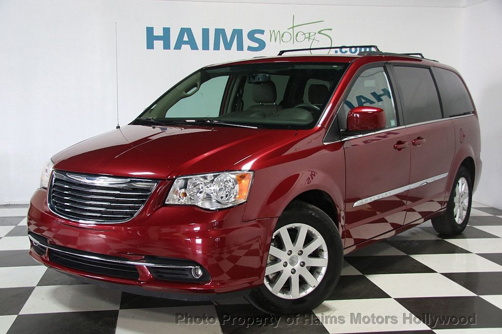2016 used chrysler town country 4dr wagon touring at haims motors hollywood serving fort. Black Bedroom Furniture Sets. Home Design Ideas