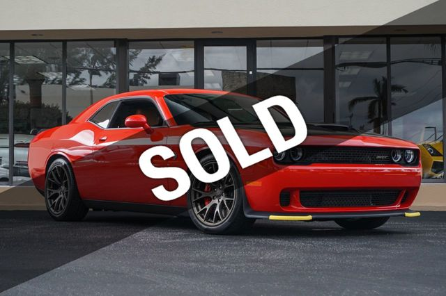 2016 Dodge Challenger Hellcat >> 2016 Used Dodge Challenger 2dr Coupe Srt Hellcat At The