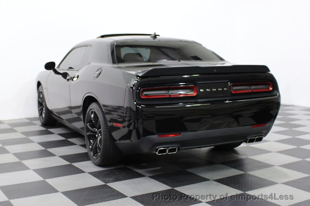 2016 Dodge Challenger CERTIFIED CHALLENGER R/T PLUS BLACKTOP SUNROOF NAV - 16852333 - 15