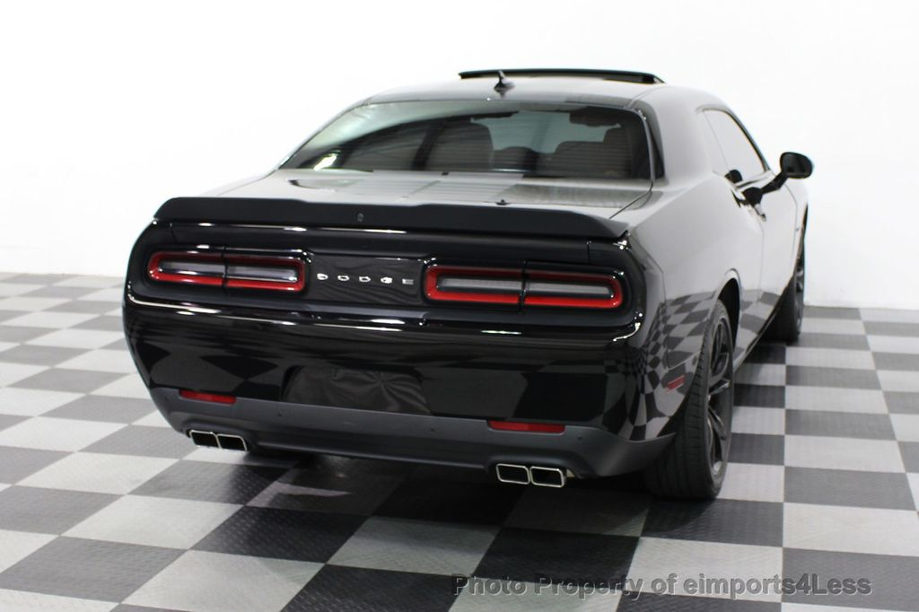 2016 Dodge Challenger CERTIFIED CHALLENGER R/T PLUS BLACKTOP SUNROOF NAV - 16852333 - 25