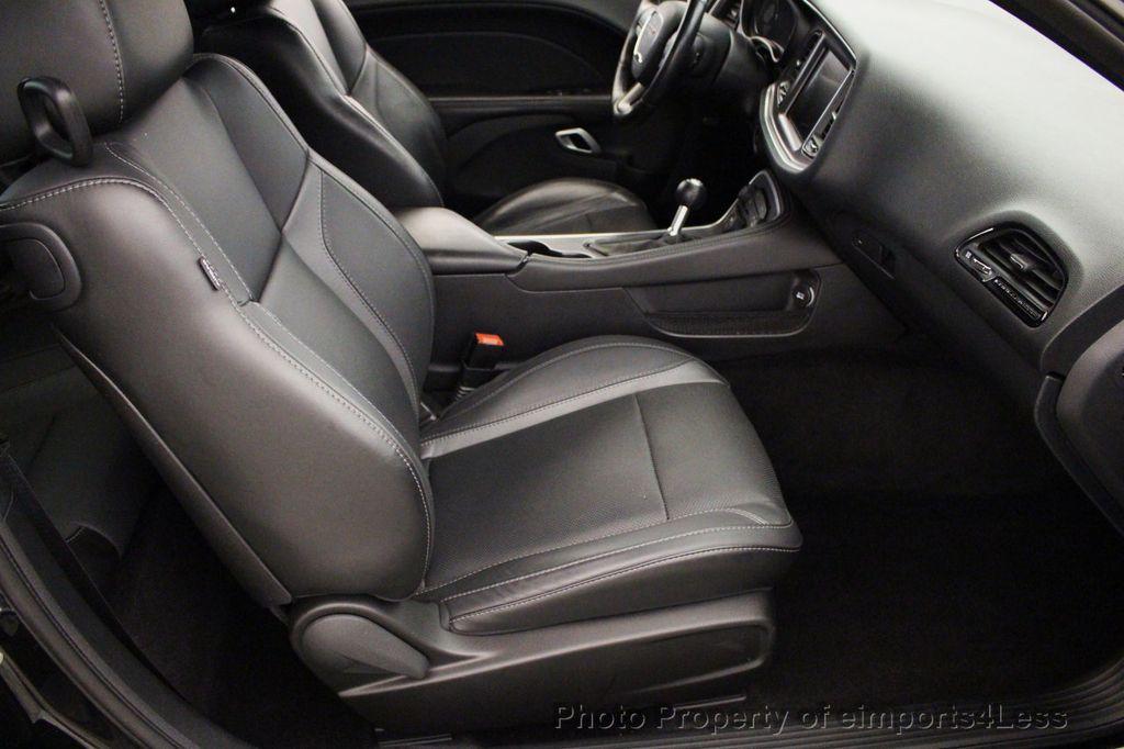 2016 Dodge Challenger Certified R T Plus Blacktop Sunroof Nav 16852333 27