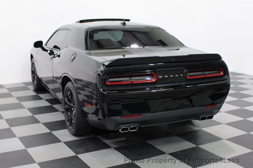 2016 Dodge Challenger CERTIFIED CHALLENGER R/T PLUS BLACKTOP SUNROOF NAV - 16852333 - 32