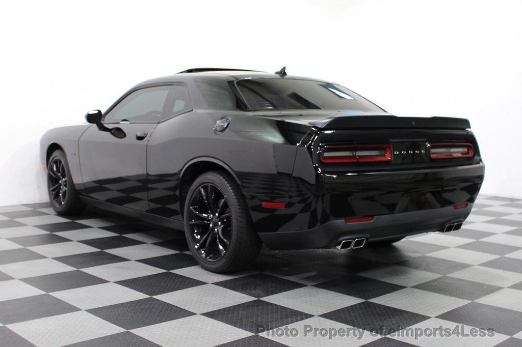 2016 Dodge Challenger CERTIFIED CHALLENGER R/T PLUS BLACKTOP SUNROOF NAV - 16852333 - 3