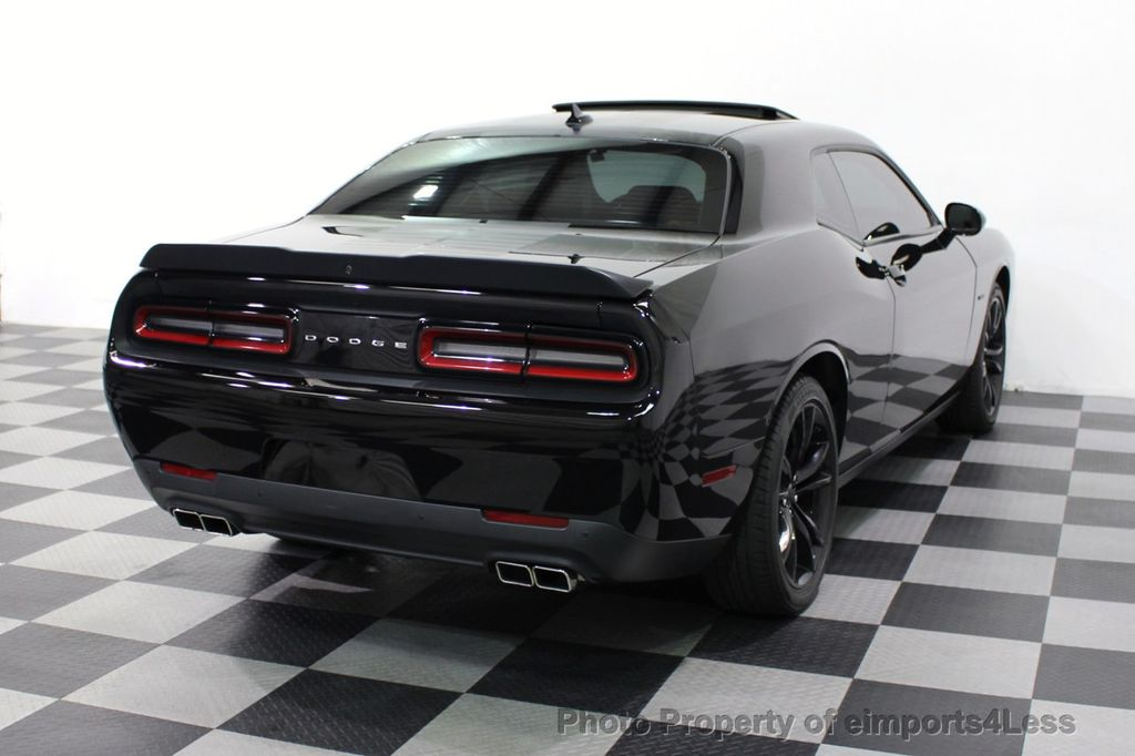 2016 Dodge Challenger CERTIFIED CHALLENGER R/T PLUS BLACKTOP SUNROOF NAV - 16852333 - 4
