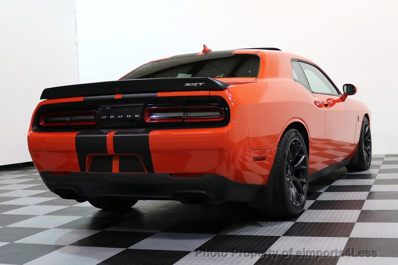 2016 Dodge Challenger CERTIFIED CHALLENGER SRT HELLCAT 6 SPEED - 17031804 - 17