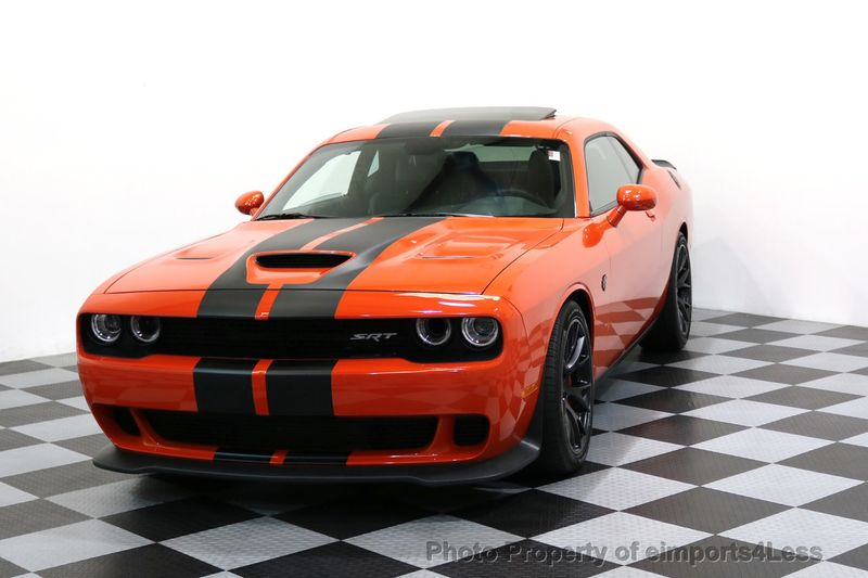 2016 Dodge Challenger CERTIFIED CHALLENGER SRT HELLCAT 6 SPEED - 17031804 - 28