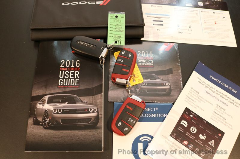 2016 Dodge Challenger CERTIFIED CHALLENGER SRT HELLCAT 6 SPEED - 17031804 - 38
