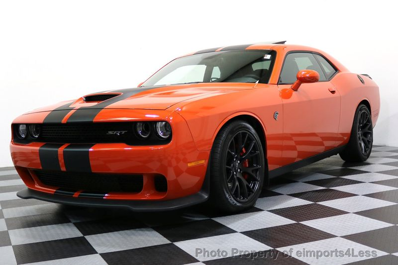 2016 Dodge Challenger CERTIFIED CHALLENGER SRT HELLCAT 6 SPEED - 17031804 - 41