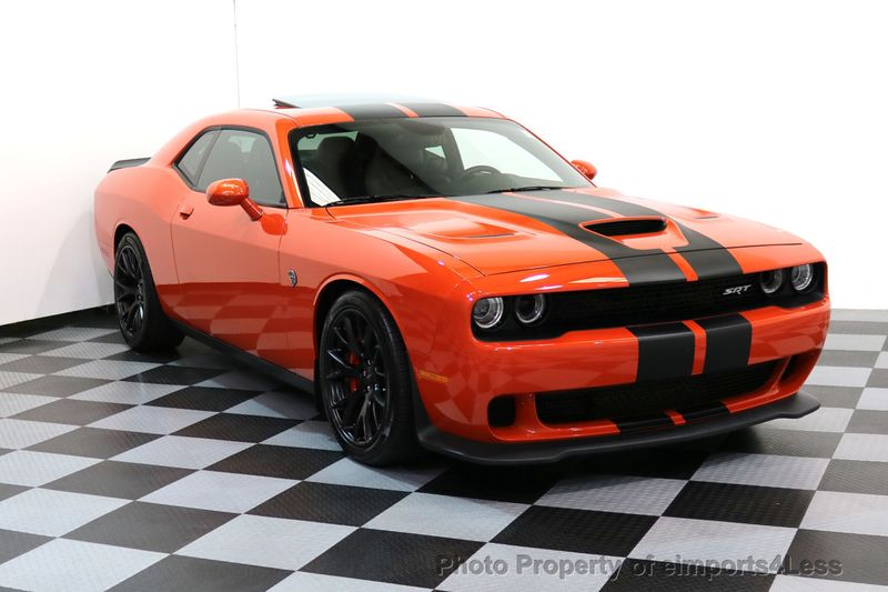 2016 Dodge Challenger CERTIFIED CHALLENGER SRT HELLCAT 6 SPEED - 17031804 - 42